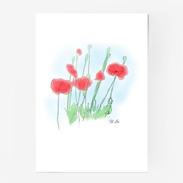 Постер «Любимые Маки»