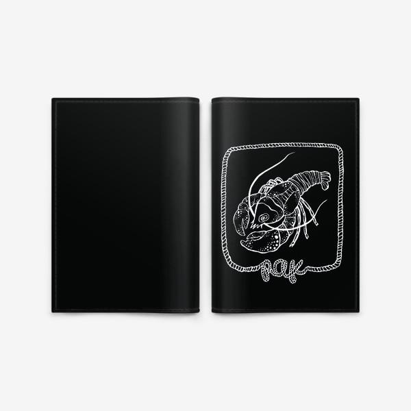 Обложка для паспорта «Рак. Графика»