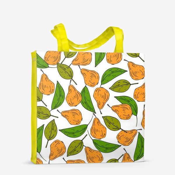Сумка-шоппер «жёлтые груши»