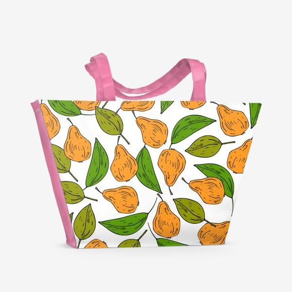 Пляжная сумка «жёлтые груши»