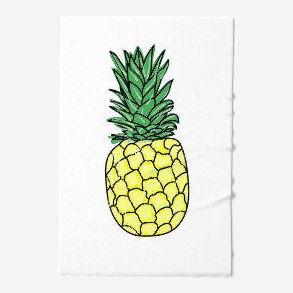Полотенце «pineapple»