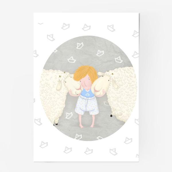 Постер «оленька и бяши»