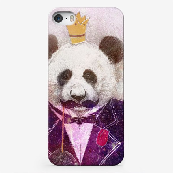 Чехол iPhone «Панда - царь зверей!»