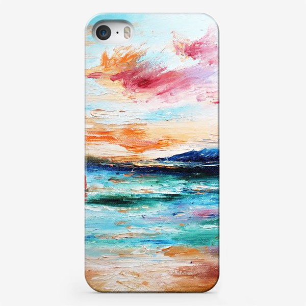 Чехол iPhone «Лазурное море»