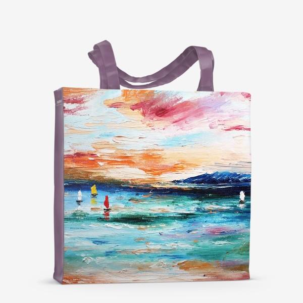 Сумка-шоппер «Лазурное море»