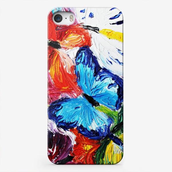 Чехол iPhone «Бабочки»