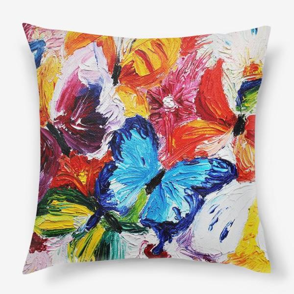 Подушка «Бабочки»