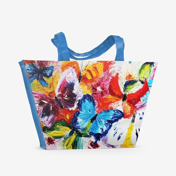 Пляжная сумка «Бабочки»