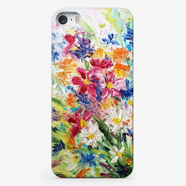 Чехол iPhone «Полевой букет»