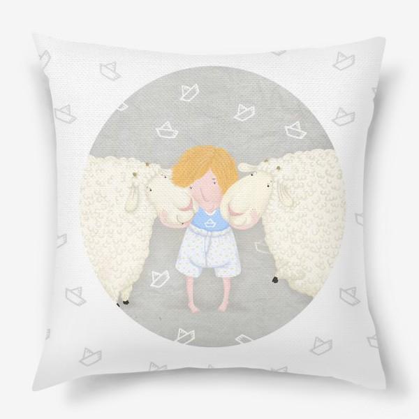 Подушка «оленька и бяши»