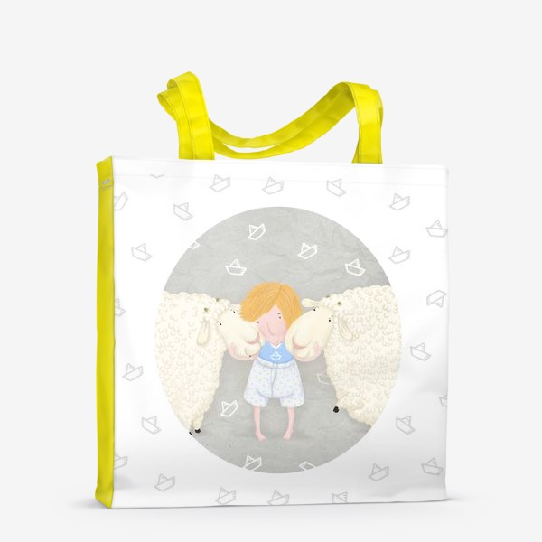 Сумка-шоппер «оленька и бяши»