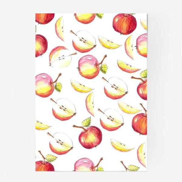 Постер «Яблочный паттерн»