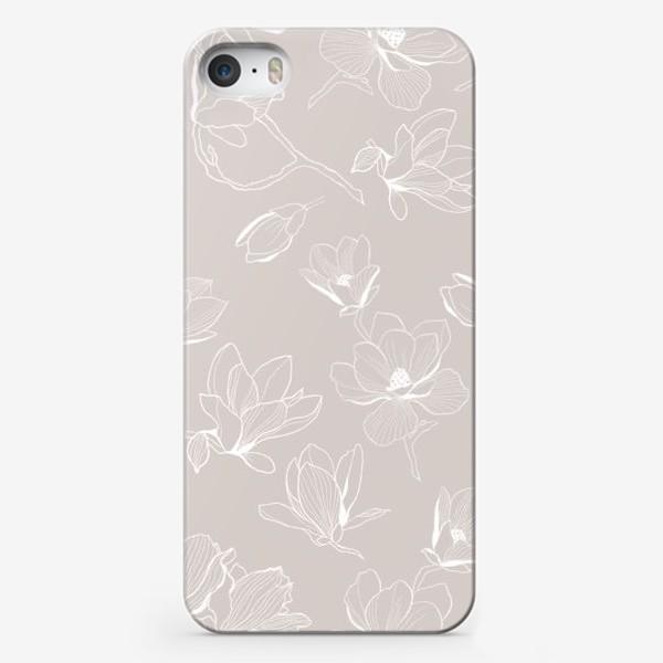 Чехол iPhone «Цветок магнолии»