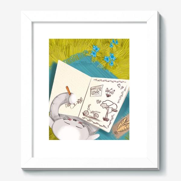 Картина «Кошка Муська на природе»