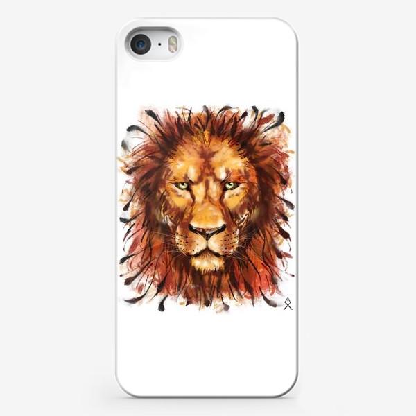 Чехол iPhone «Лев »
