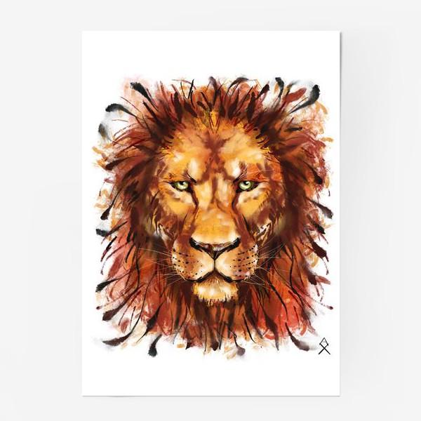 Постер «Лев »