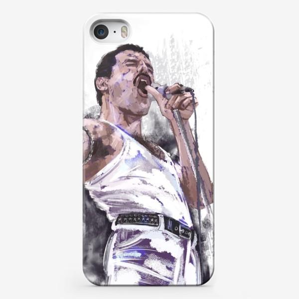 Чехол iPhone «портрет Фредди Меркьюри»