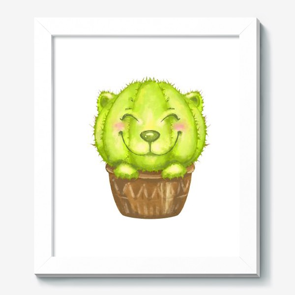Картина «Кот кактус »