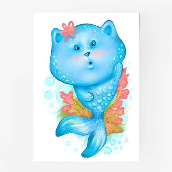 Постер «Русалочка котэ »