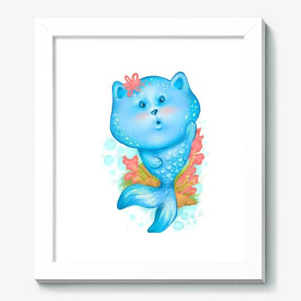 Картина «Русалочка котэ »