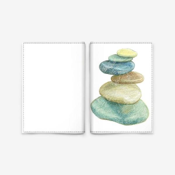 Обложка для паспорта «Пирамидка»