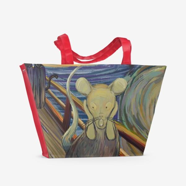 Пляжная сумка «Крик»