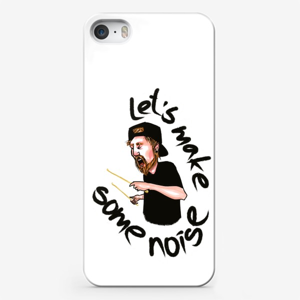 Чехол iPhone «let's make some noise»