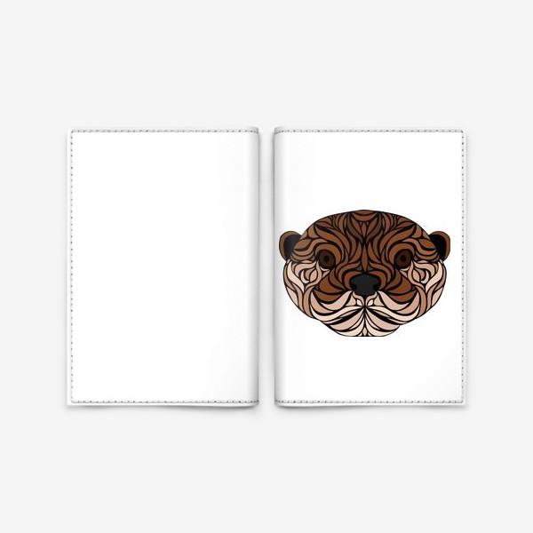 Обложка для паспорта «Тотемная Выдра»
