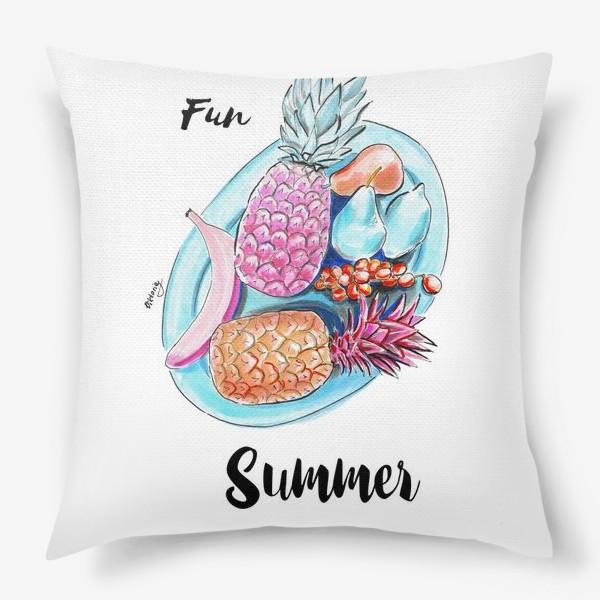 Подушка «Весёлое лето»