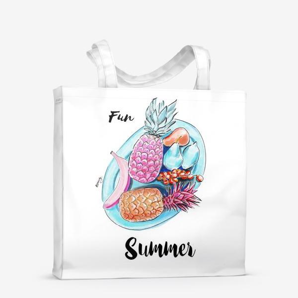 Сумка-шоппер «Весёлое лето»