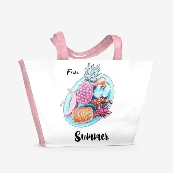 Пляжная сумка «Весёлое лето»