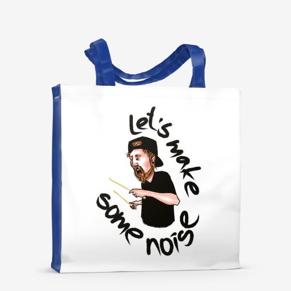 Сумка-шоппер «let's make some noise»