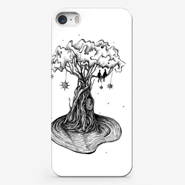 Чехол iPhone «Любовь нужно растить»