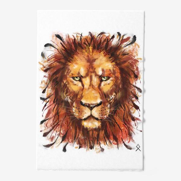 Полотенце «Лев »