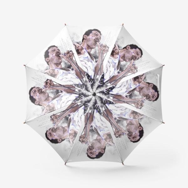 Зонт «портрет Фредди Меркьюри»