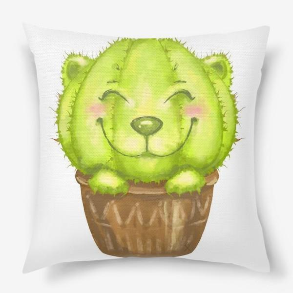 Подушка «Кот кактус »