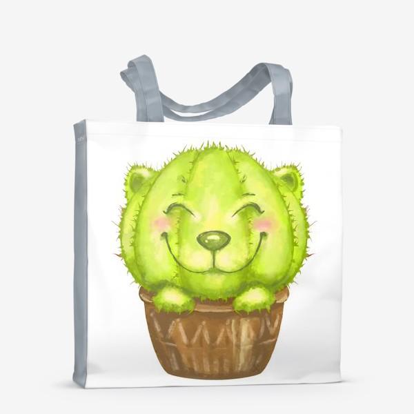 Сумка-шоппер «Кот кактус »