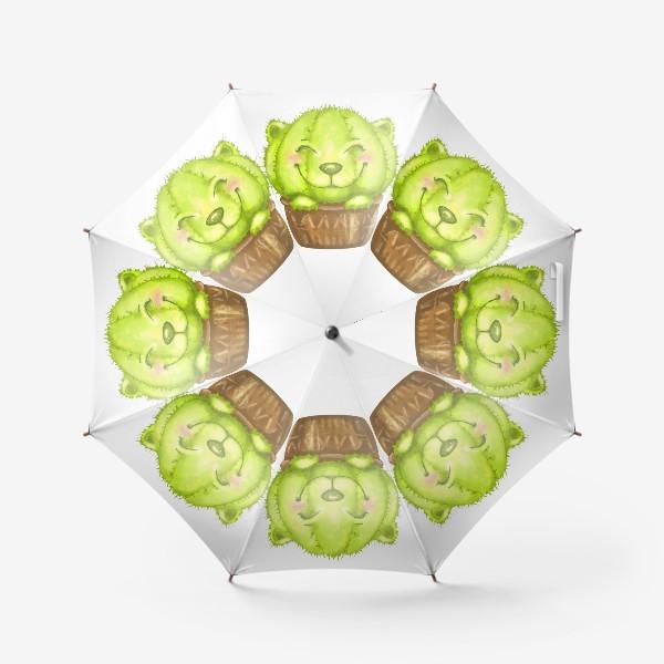 Зонт «Кот кактус »