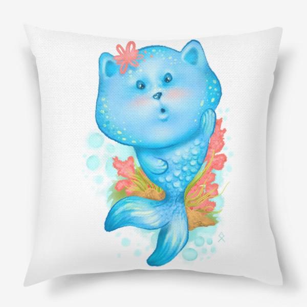 Подушка «Русалочка котэ »