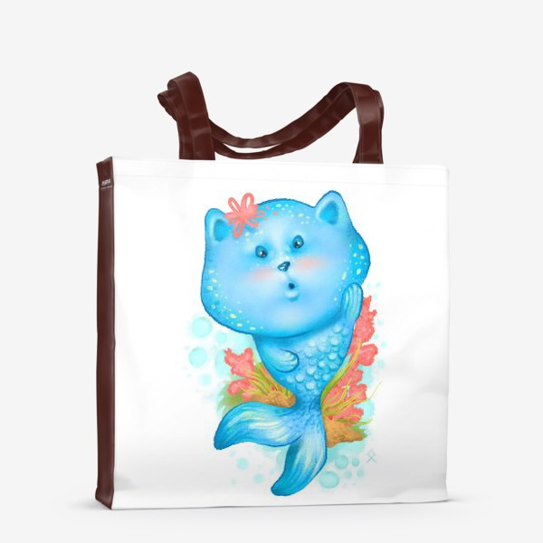 Сумка-шоппер «Русалочка котэ »