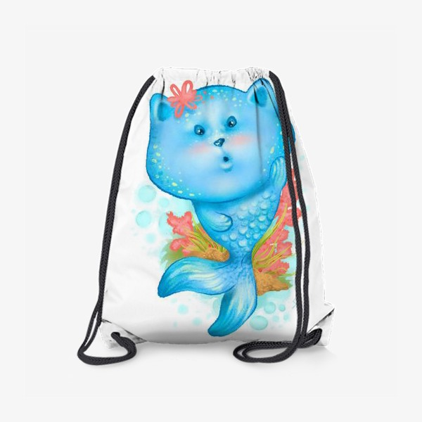 Рюкзак «Русалка кошка »
