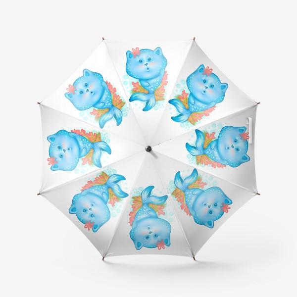 Зонт «Русалочка котэ »