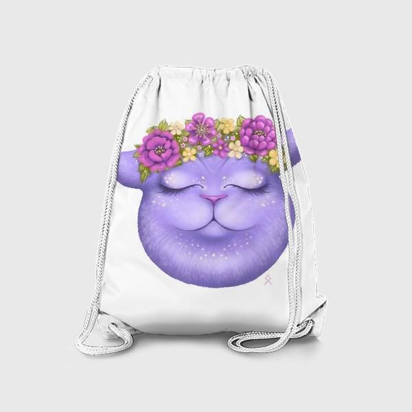 Рюкзак «Мечтательная кошка »
