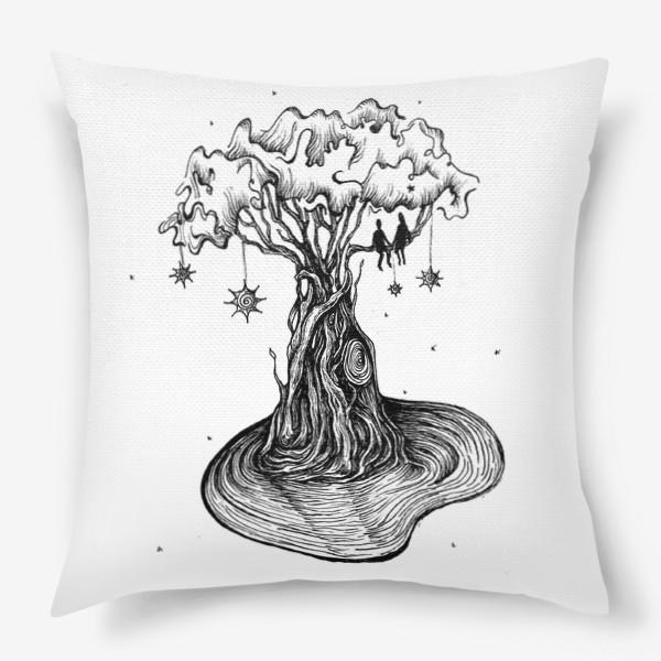 Подушка «Любовь нужно растить»