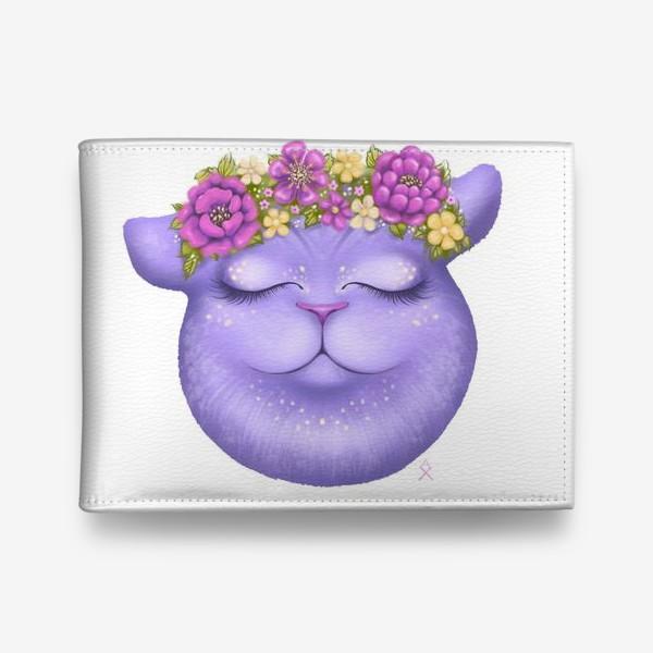 Кошелек «Мечтательная кошка »