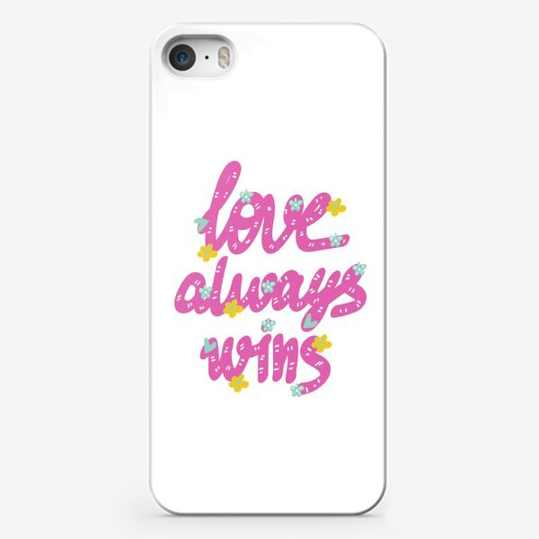 Чехол iPhone «love»