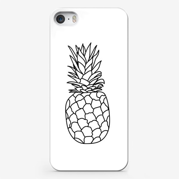 Чехол iPhone «pineapple»