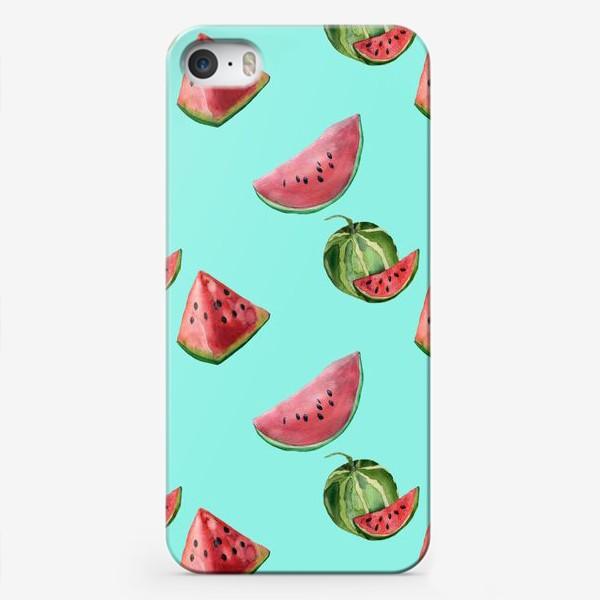 Чехол iPhone «сладкий арбуз»