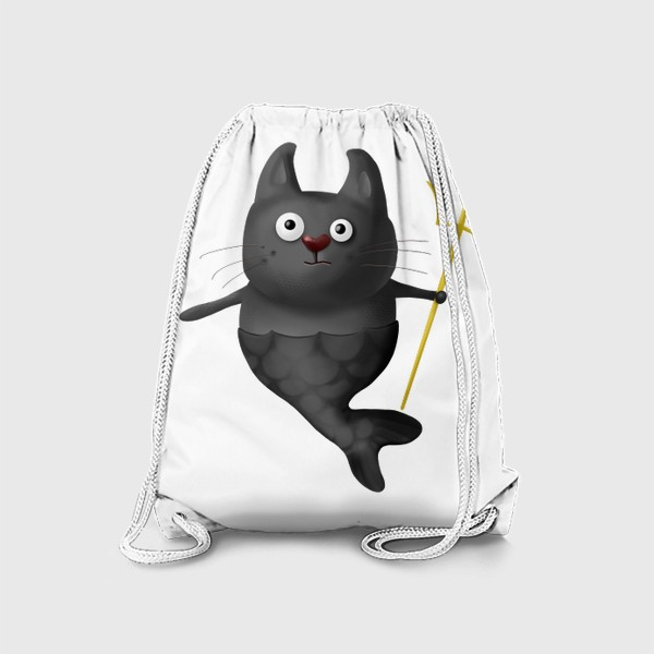 Рюкзак «Кот Рыба Зевс»