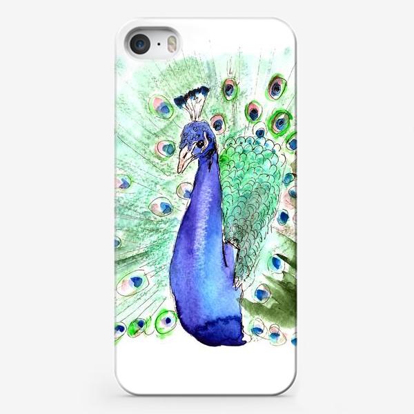 Чехол iPhone «Павлин»